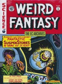EC Archives Weird Fantasy HC ab Vol.1
