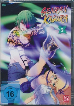 Senran Kagura Vol. 3 DVD