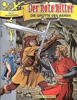 Rote Ritter Silber Edition (Wick, GbÜ.) Nr. 1-11 (neu)