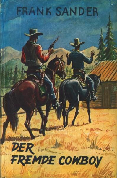 Burmester's Abenteuer-Serie LB VK Fremde Cowboy (Burmester) Leihbuch Vorkrieg Sander,Frank
