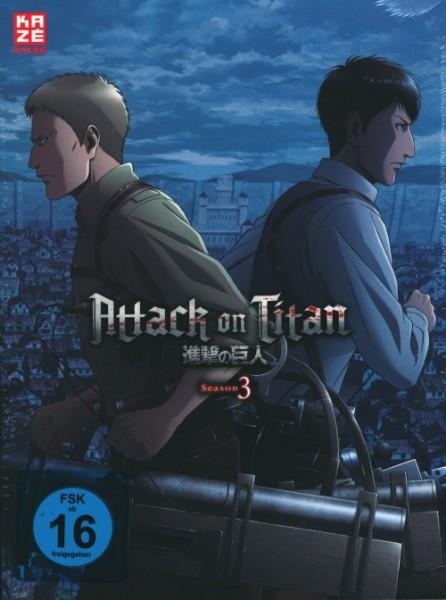 Attack on Titan Season 3 Vol.3 DVD