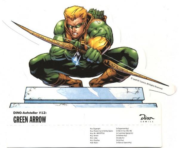 Dino-Aufsteller (Dino) 12 Green Arrow