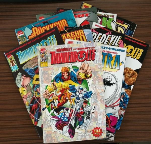 Paket 3724 10 verschiedene Marvel Special (Marvel, Gb.) (Z0-2)