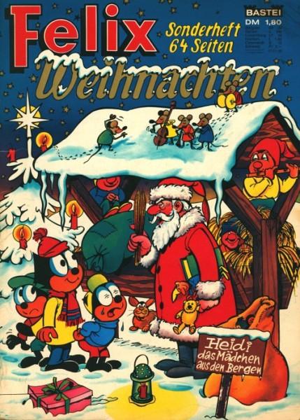 Felix Sonderheft (Bastei, Gb.) Weihnachten 1964-1980