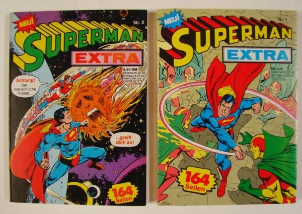 Superman Extra (Ehapa, Tb.) Nr. 1-12 kpl. (Z1-2)