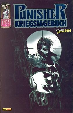 Punisher Kriegstagebuch 1 Variant (Comicaction 2001)