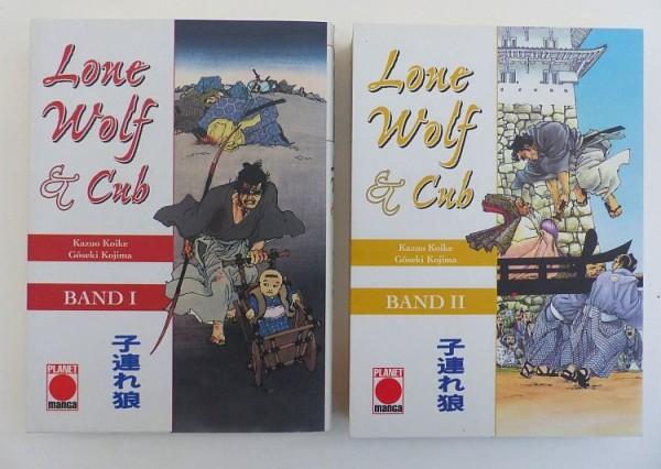 Lone Wolf & Cub (Planet Manga, Tb.) Nr. 1-20 zus. (Z1-)