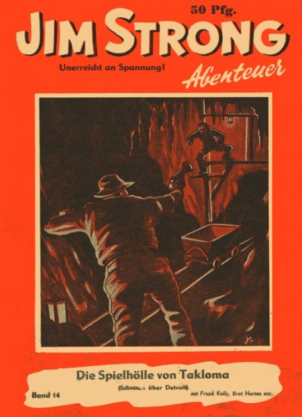 Jim Strong Abenteuer (Jim Strong, Kleinformat) Nr. 1-39, 200-203