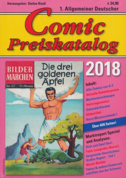 Comic-Preiskatalog 2018 SC