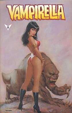 Vampirella 22 (Comic-Cover)