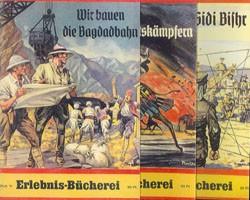 Erlebnisbücherei (Romanheftreprints, Vorkrieg) Nr. 71-105 zus. (neu)