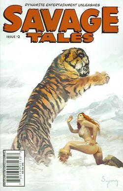 Savage Tales 1-10