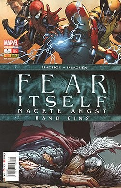 Fear Itself (Panini, Br.) Nackte Angst Nr. 1-3,5,7 (neu)