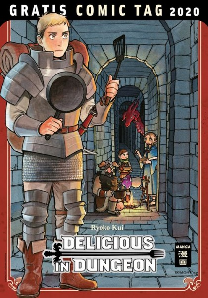 Gratis Comic Tag 2020: Delicious in Dungeon (05/20)