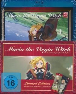 Maria the Virgin Witch Vol. 1 Blu-ray + Manga