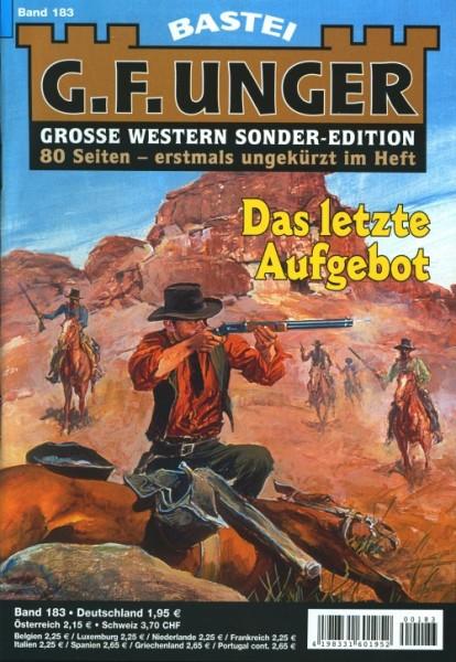 G.F. Unger Sonder-Edition 183