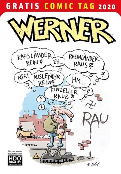 Gratis Comic Tag 2020: Werner (05/20)