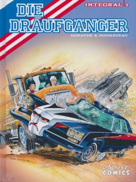 Draufgänger Integral (Kult Comics, B.) Nr. 1-3