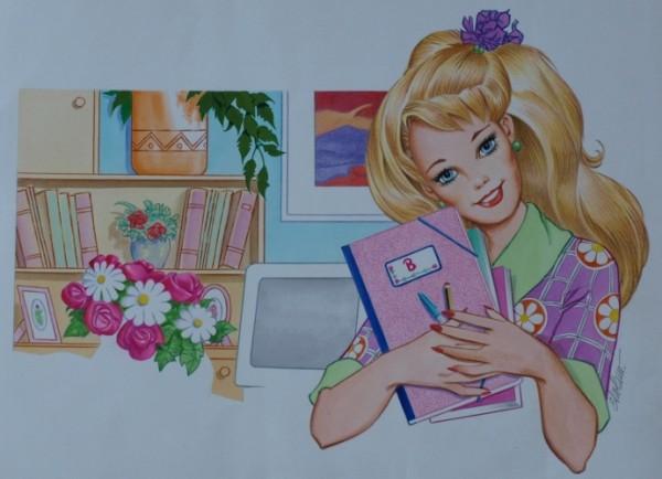 Originalzeichnung (0171) Biggi Zeichner Elcolano