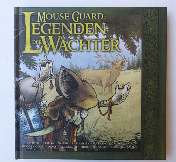 Mouse Guard (Cross Cult, B.) Legenden der Wächter 1-3 kpl. + Balduin der Tapfere + Schwarze Axt + He