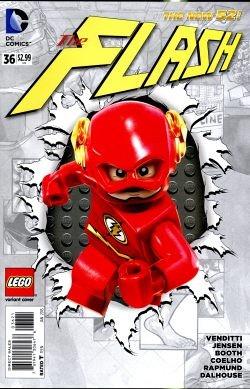 Flash (2011) Lego Variant 36