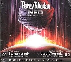 Perry Rhodan Neo MP3-CD Folgen 1-2