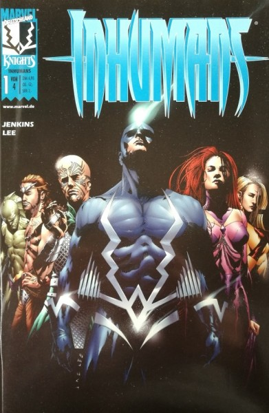 Inhumans (Marvel, Gb.) Nr. 1-4 kpl. (Z1-2)