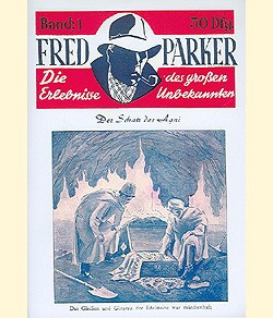 Fred Parker (Romanheftreprints) Nr. 1-8