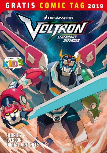Gratis Comic Tag 2019: Voltron