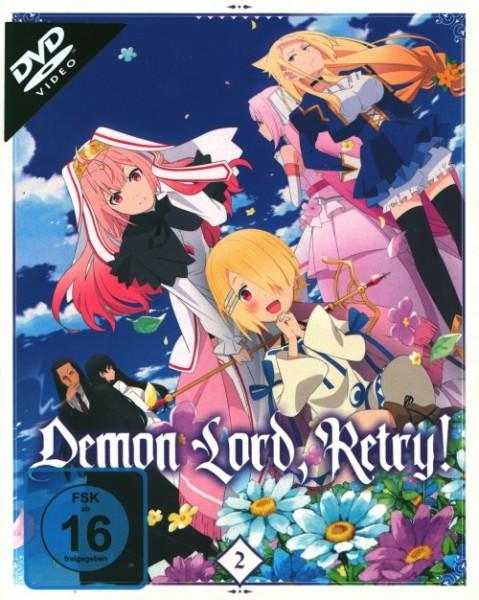 Demon Lord Retry Vol. 2 DVD