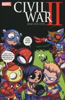 Civil War II 01 Variant B