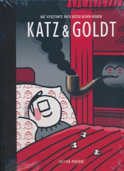 Katz und Goldt (Edition Moderne, B.) Das vierzehnte Buch dieser beiden Herren