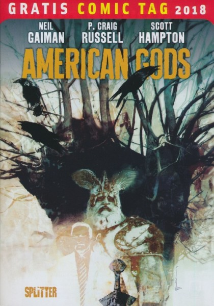 Gratis Comic Tag 2018: American Gods