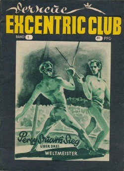 Neue Excentric Club (Tag) Nr. 1 Percy Stuarts Sieg über drei Weltmeister