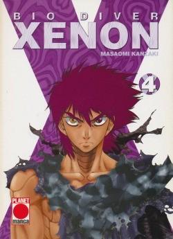Bio Diver Xenon (Planet Manga, Tb.) Nr. 1-4 kpl. (Z1-)