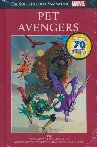 Marvel Superhelden Sammlung 70: Pet Avengers