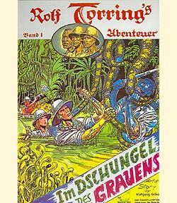 Rolf Torring Comic Nr. 1-4