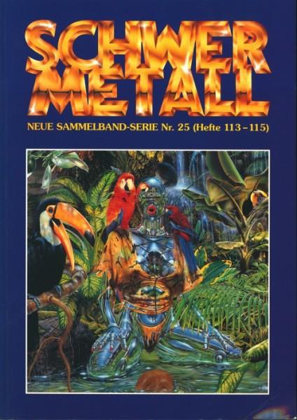 Schwermetall Sammelband (Alpha, Br.) Neue Sammelband-Serie Nr. 1-40