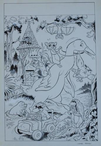 Originalzeichnung (0200) J. Lopez Ramon