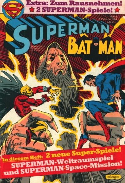 Superman (Ehapa, Gb.) Jahrgang 1984 mit Beilage Nr. 1, 3, 5, 6, 16, 18, 23, 24, 26