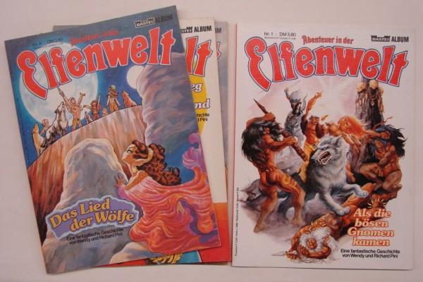 Abenteuer in der Elfenwelt (Bastei, Br.) Nr. 1-37 kpl. (Z0-2)