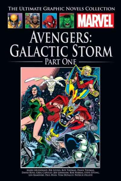 Offizielle Marvel-Comic-Sammlung 182: Avengers - Galactic... (03/20)