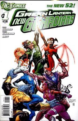 Green Lantern New Guardians (2011) 1st Printing 1