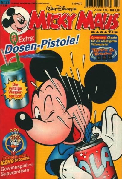Micky Maus (Ehapa, Gb.) Jahrgang 1999 Nr. 1-52