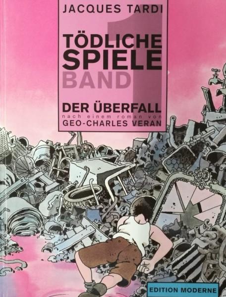 Tödliche Spiele (Edition Moderne, B.) Nr. 1-4