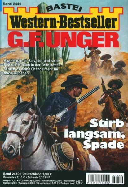 Western-Bestseller G.F. Unger 2449