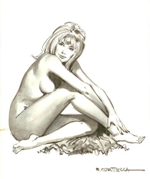 Originalzeichnung Erotische Pin-ups (Bild 136)