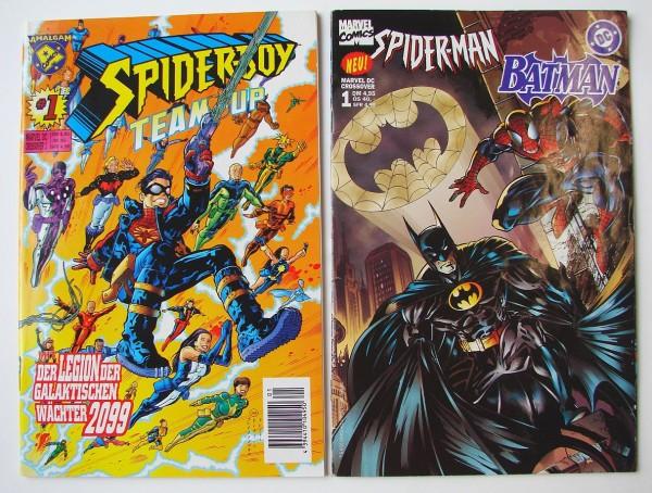 Marvel DC Crossover (Marvel, Gb.+Br.) Nr. 1-33 kpl. (Z1-2)