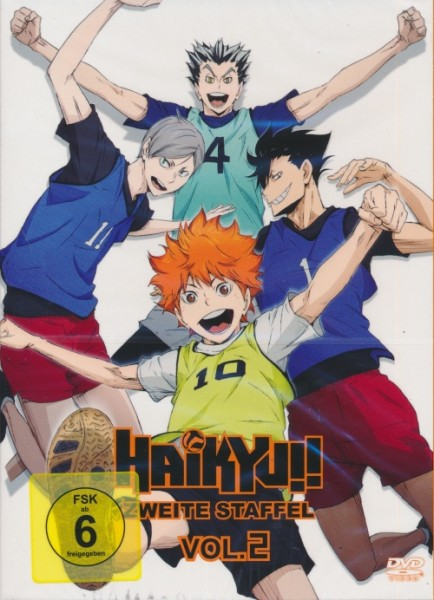 Haikyu!! Zweite Staffel Vol. 2 DVD