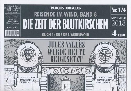 Reisende im Wind 8 - Journal 1: Jules Vallès wurde heute beigesetzt